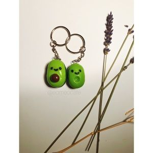 Couple Happily Avo After Keychain